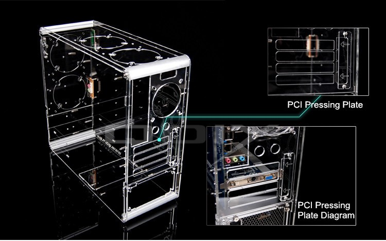 wholesale retail pc a006 vertical transparent chassis 4 wire pc fan switch wiring diagram