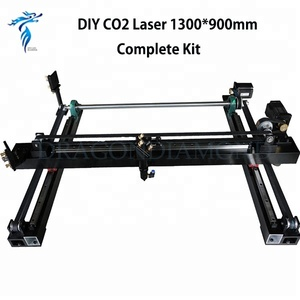 TOP Quality CO2 Laser Engraving Kit 1300mm*900mm Single Head Laser Cutting Machine Spare Parts