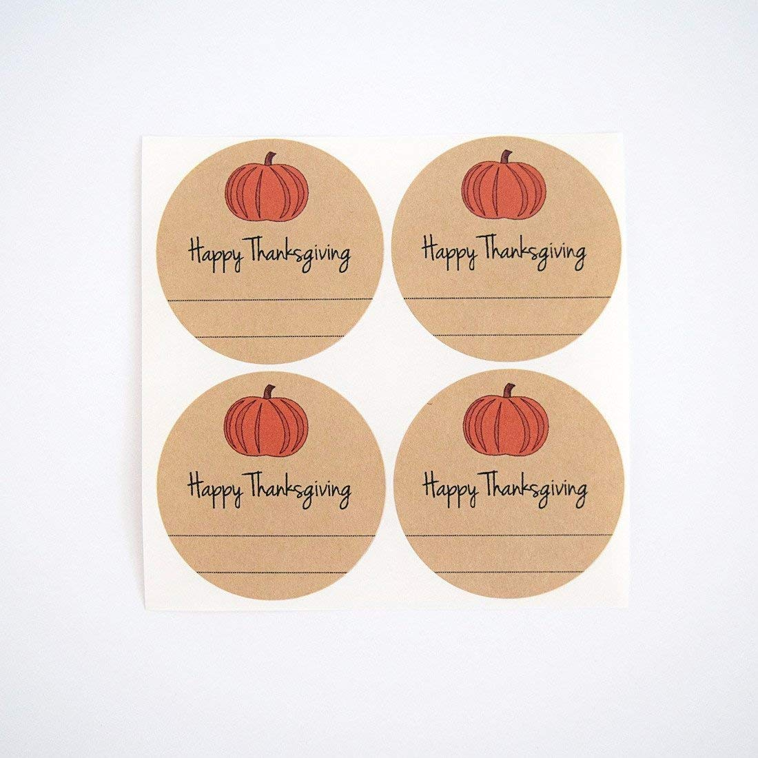 Get Quotations · Happy Thanksgiving Pumpkin Butter Mason Jar Labels by Once Upon Supplies, for Homemade Autumn Fall
