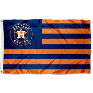 Houston Astros Stars and Stripes Nation 3x5 Flag