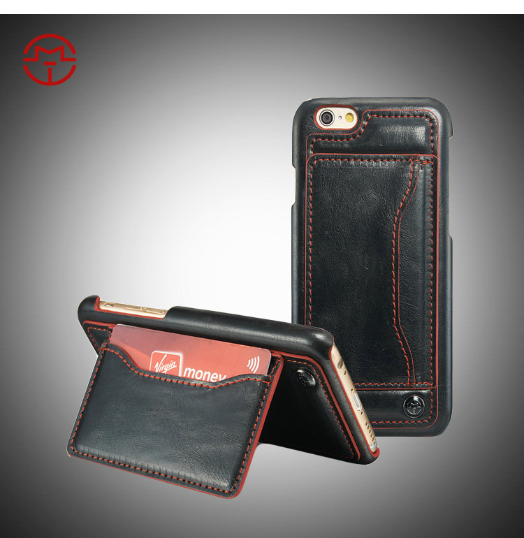 Caseme Brand Unique Leather Back Case For Iphone 6 With Stand ...
