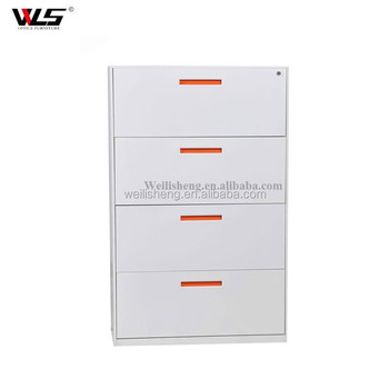 High Quality Normal Size 4 Drawers Map Storage Cabinet Metal Filing