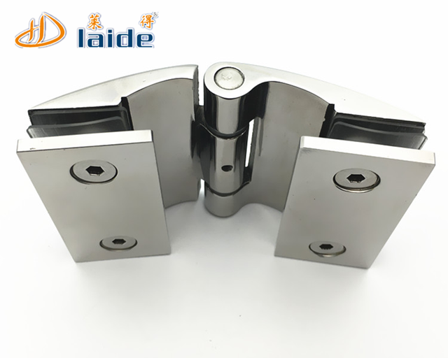180 Degree High Quality Bathroom Door Clamp Glass Shower Pivot Hinge