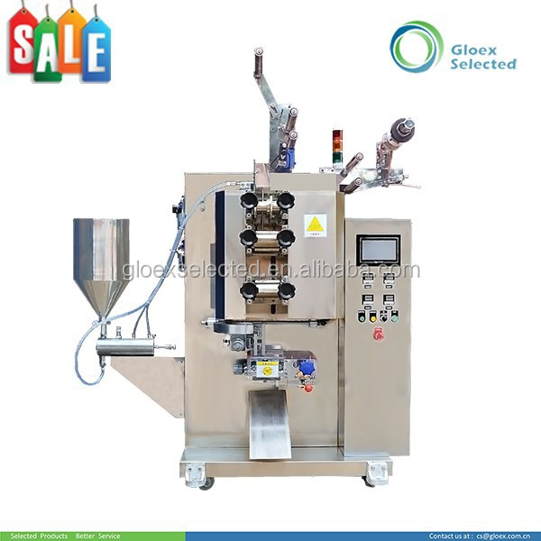 Simple adjustment Easy for parameter setting 3 or 4 sides sealing powder granule satchel packing machine