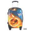 Customized Mars sphere Design ABS PC trolley hard shell case/ travel bag and luggage set/ standard size luggage