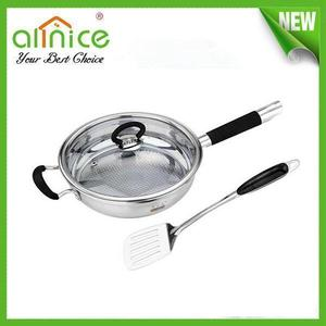 Stainless steel non-stick frying pan/cheap frying pan/non-stick skillet