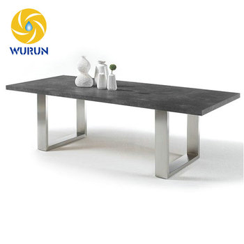 China Manufacture Factory Price U Shape Stainless Steel Metal Table Legs  For Sale