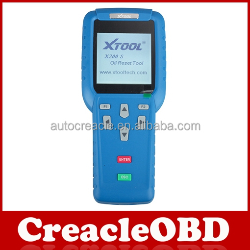 High quality Wholesale XTOOL Oil Reset Tool X-200 diagnostic tool new package of X200 The latest packaging