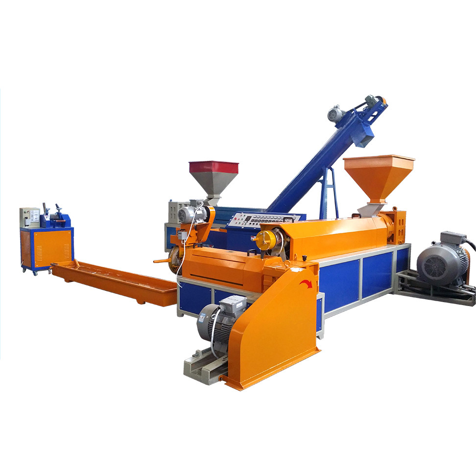 Union HDPE LDPE PP PE Afval Plastic Recycling Granulator Machine plastic gerecycled korrels