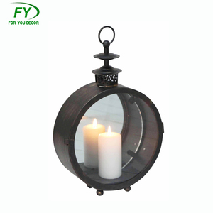 Wholesale Moroccan Wall Mount Metal Candle Lantern