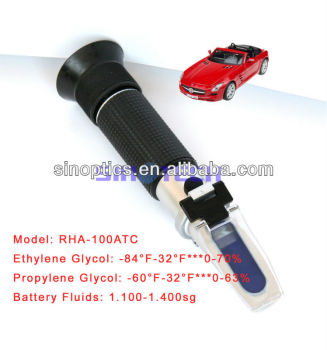 Hand held antifreeze battery refractometer RHA-100ATC