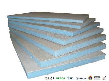 Impermeabile xps piastrelle sostenitore bordo come barriera per il