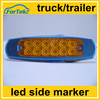 12v 24v 6 inch bus truck trailer led side marker lamp