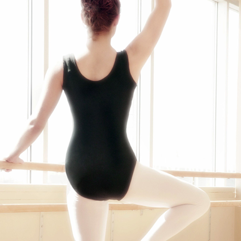 f4ee7bdc92db Buy Ballet coverall leotard dance clothes ruffle dress adult short ...