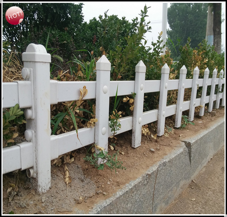 Wholesale high quality vinyl garden fence for sale