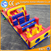 kids inflatable bounce house toy playing inflatable obstacle