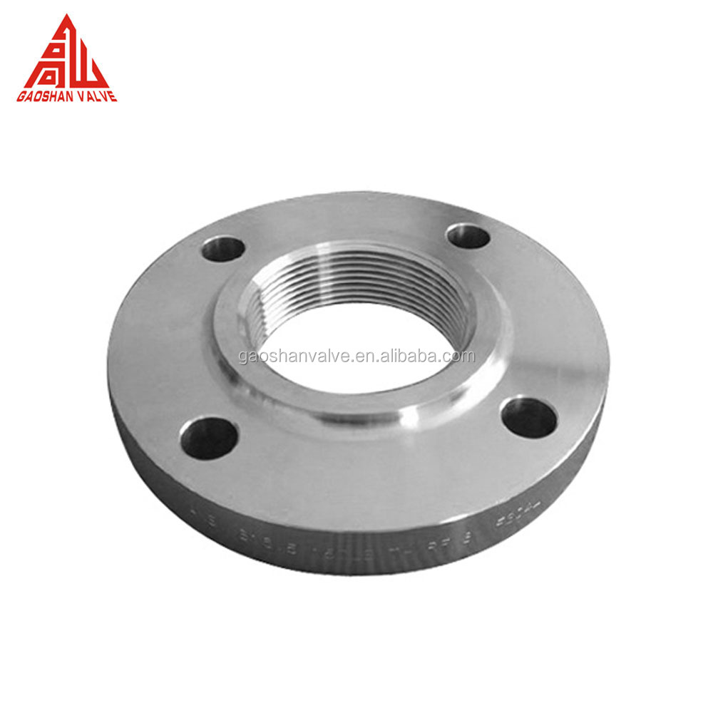 China Manufacturer Supply Stainless Steel Threaded Screw Flange