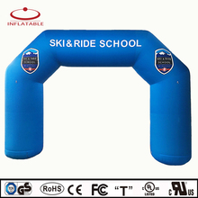 high quality inflatable bow event archway with logo