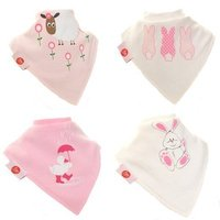 Global promotional new design unique wholesale baby bibs and burp cloths