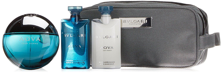 Aqva Pour Homme Coffret: Eau De Toilette Spray 100ml/3.4oz + Shampoo & Shower Gel 75ml/2.5oz + After Shave Balm 75ml