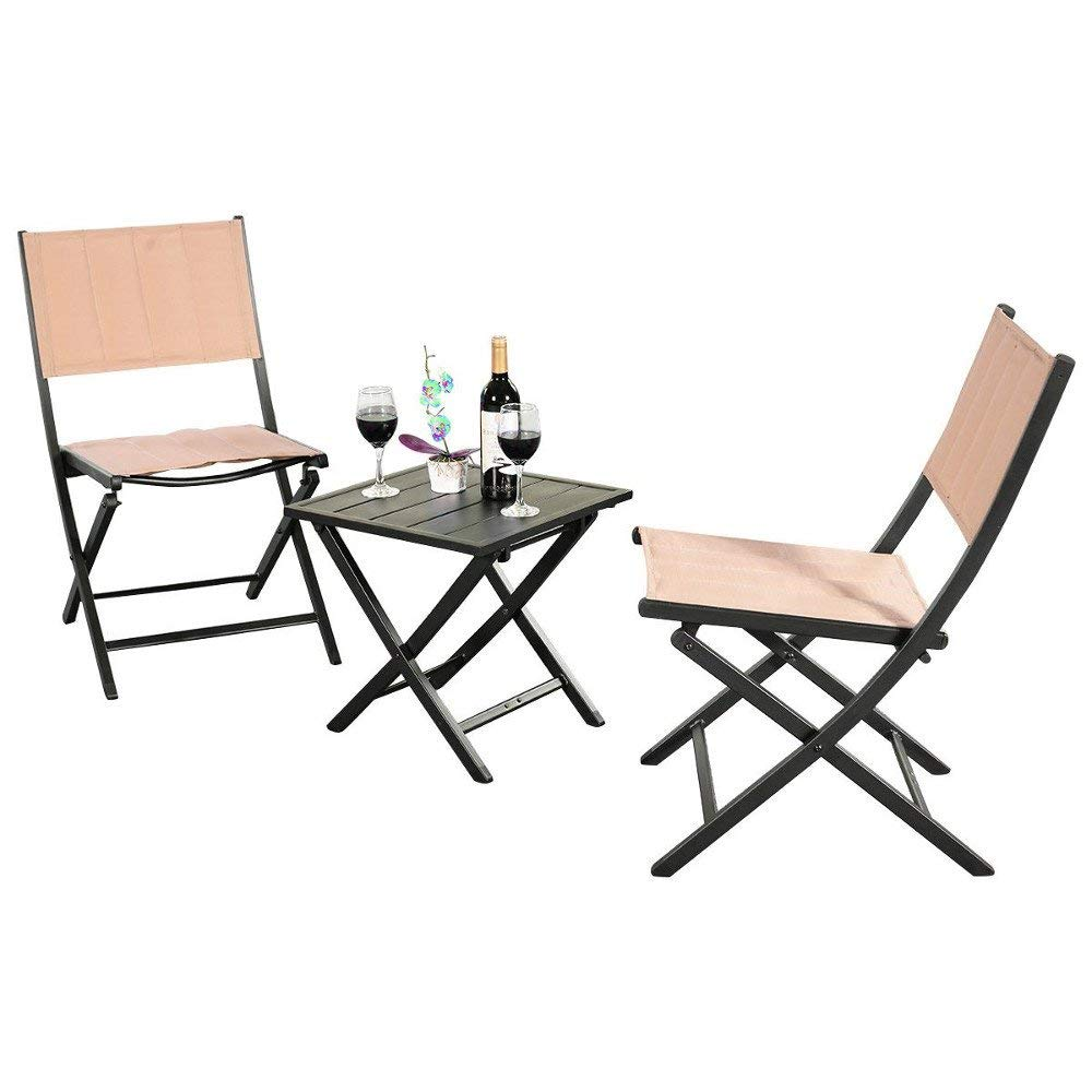 Gt Outside Chairs For Porch Small Furniture Patio Apartment Balcony Side Table And