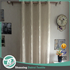 Cream color hot silver sheer curtain for hotel