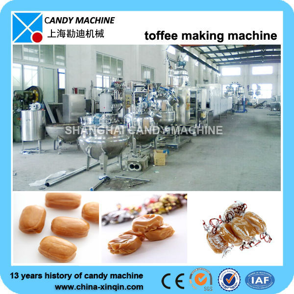 Choco Caramel toffee making machine