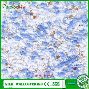 Flüssigkeit Wand Seide Gips Wand Beschichtung Innen Faser Dekor  Wandverkleidung