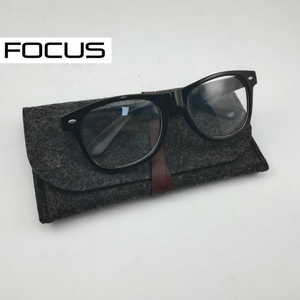 2018 new style felt sun glasses cleaning bags/pouches /microfiber cleaning pouch FC-F106