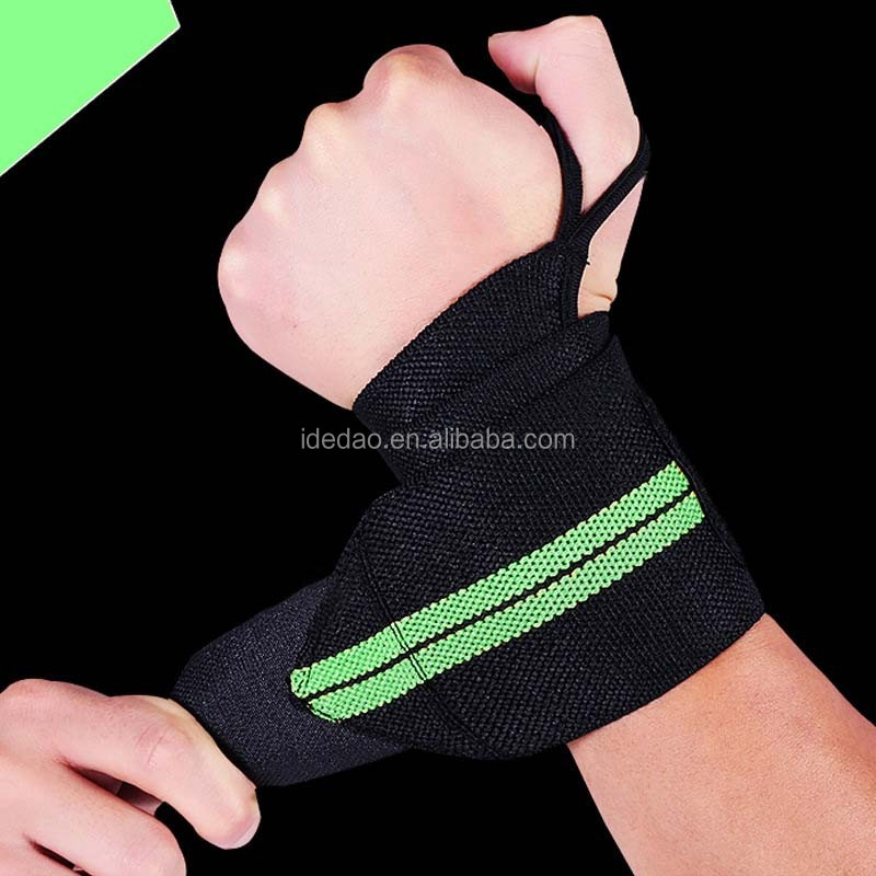 China Neoprene Wrist Brace Support Hand Wrap Strap For tennis Gym Sports Safety