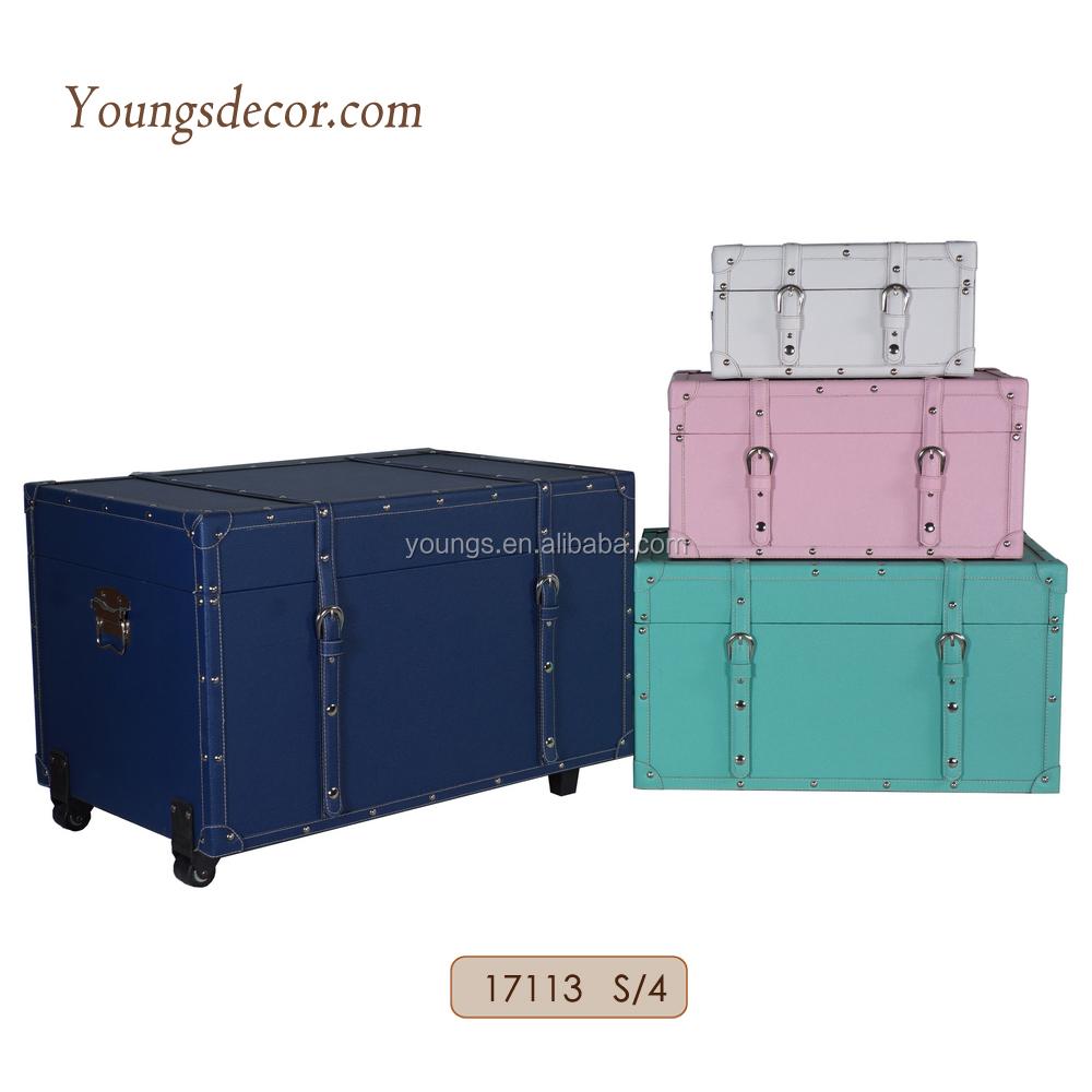 Woodentrunk Storage Chest Box Sets