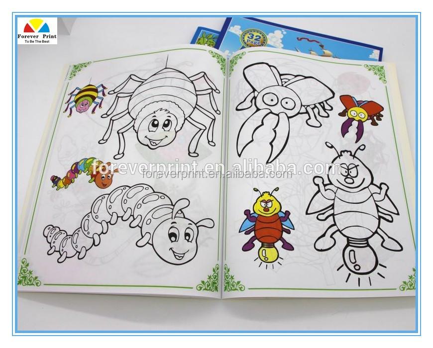 Insectos Impresión A Todo Color Niños Interesante Grapado Barato ...