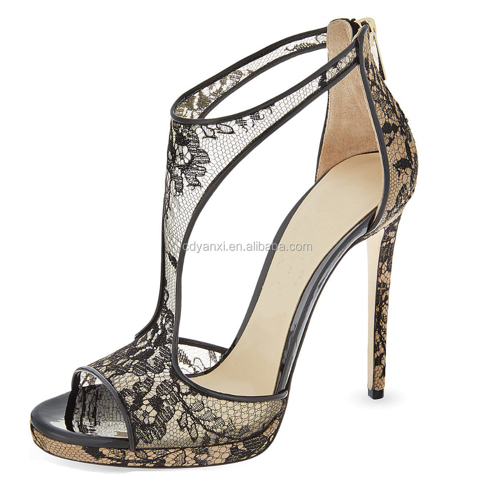 acff0c14798e08 Wholesale Custom Design Fancy Ladies Summer Party Wear High Heel Sandals  Shoes
