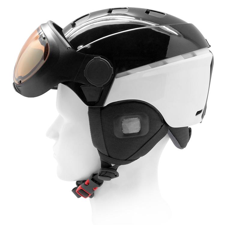 2019 High End EPS+PC+ABS Hybrid Ski Helmet