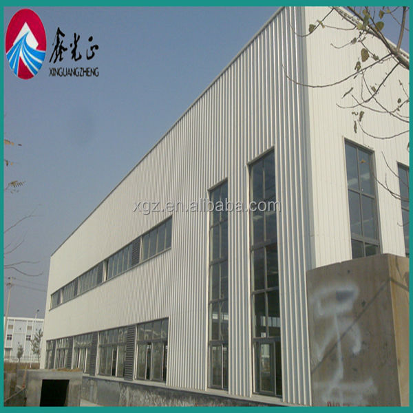 ISO & CE certification prefab light-weight steel structure system