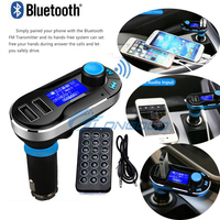 Brand New Car Kit Wireless Bluetooth FM Transmitter With 2 USB Port MP3 Music Player