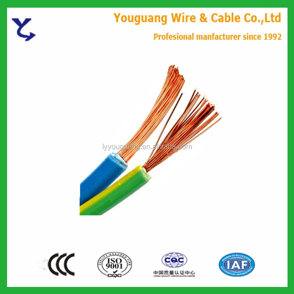 Flexible stranded electrical wire AWG wire 12 gauge electrical building wire