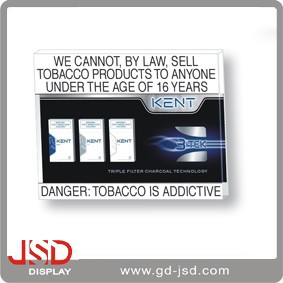 Retail Price Plastic Tobacco Holder , Counter Plastic Tobacco Holder , Plastic Tobacco Holder for Shop