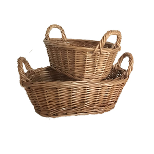 Christmas Gift Wicker Storage Baskets For Sundries Bread Fruit