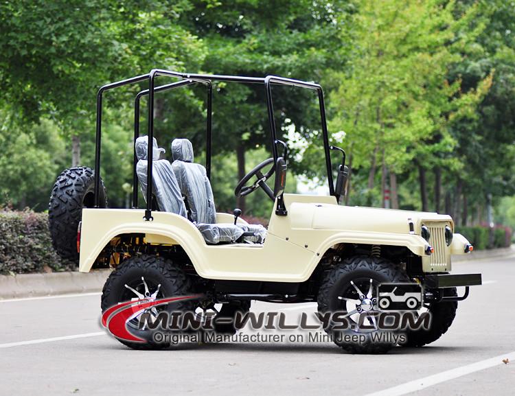 Mini Jeep Willys 150cc Engine Racing Quad Atv 110cc 125cc 150cc ...