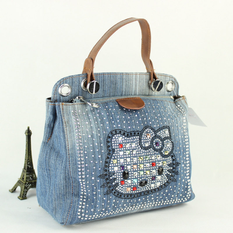 17be08bcd79 Get Quotations · 2015 casual style women handbag lady Tote Shoulder Bags  Large Capacity denim Bags wholesale