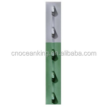 Metal Fence Post For Metal Post t Bar Fence Post Farm Fence Poststudded Bar Poststudded