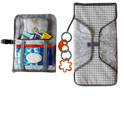 Good quality new design hot selling for baby outside diaper changing pad portable diaper pad travel organizer Bag