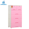 Plastic handle 2/3/4 drawer cabinet,filing cabinet office furniture for A4 size