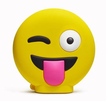 2600mah Funny Face Power Bank / Emoji Power Bank Portable Emergency Phone  Charger - Buy Emoji Power Bank,Fanny Face Power Bank,Power Bank 2600mah