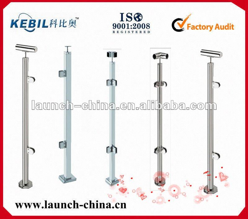 Stainless steel rail posts and parts