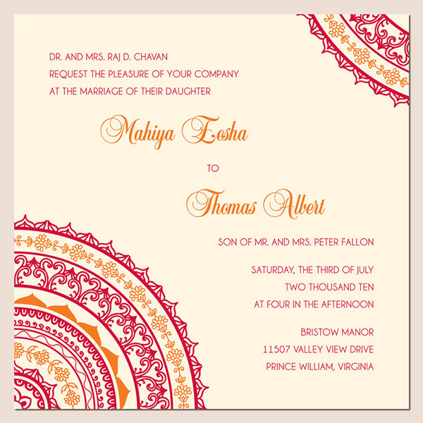 Low Price Indian Wedding Invitation Cards