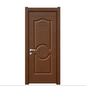 Fire Rated Waterproof Ecological WPC Interior Door for Bedroom Bathroom
