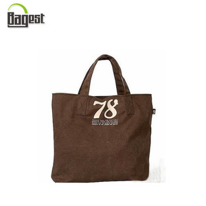 GOTS certificated Advertising Use Printed Cotton Canvas Carry Bag