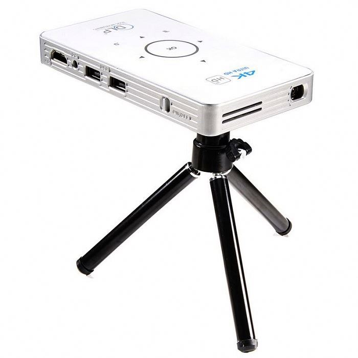 "2Gb + 16Gb 30"" - 120"" Screen Hd 5G Wifi Dlp C6 Mini Projector"